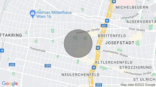 Friedmann's Apartment Close to the Heart of Vienna Map