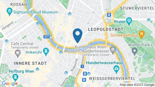 Novotel Wien City Map