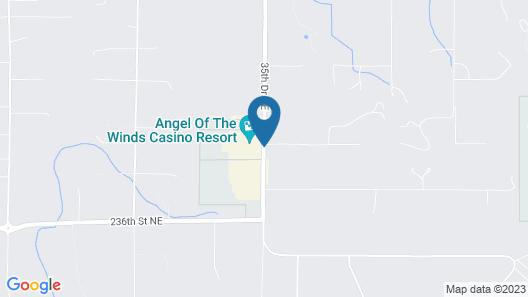 Angel Of The Winds Casino Resort Map