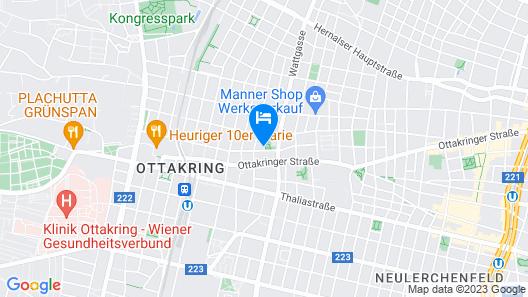 CheckVienna - Apartment Familienplatz Map