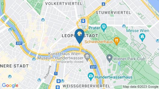 ibis Styles Wien Messe Prater Map