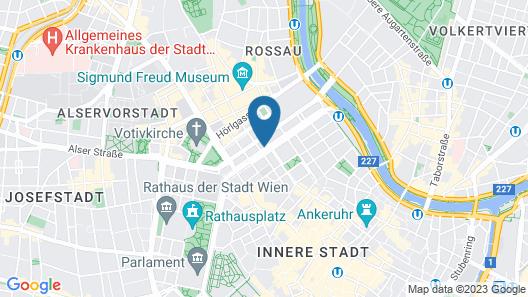 Hilton Vienna Plaza Map