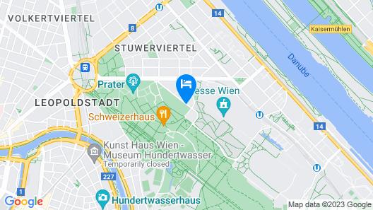 Hampton by Hilton Vienna Messe Map