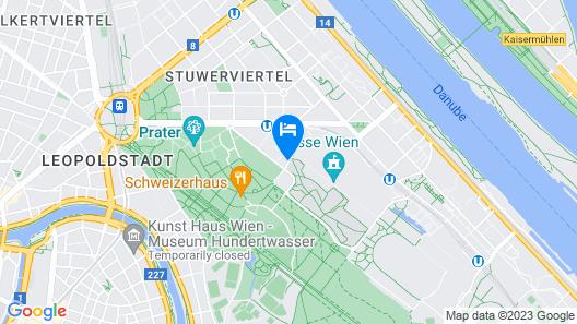 BASSENA Wien Messe Prater Map