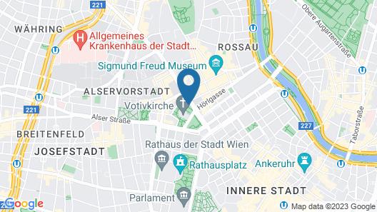 Hotel Regina Map