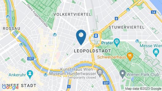 Leuhusen Center Apartments Vienna Map