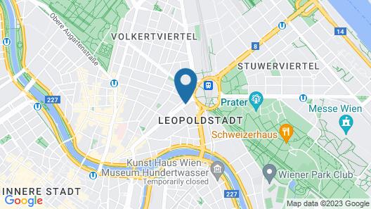 Austria Classic Hotel Wien Map