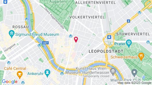 Hotel Imlauer Vienna Map