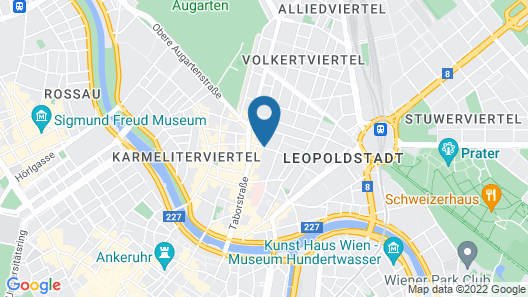 Hotel Nestroy Map