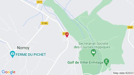 LOGIS L'Orée du Bois Map