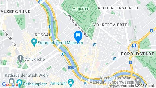MEININGER Hotel Wien Downtown Sissi Map