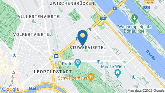 Best Western Plus Hotel Arcadia Map