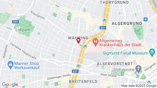 Rafael Kaiser Premium Apartments Map