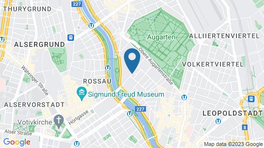 MEININGER Hotel Vienna Downtown Franz Map