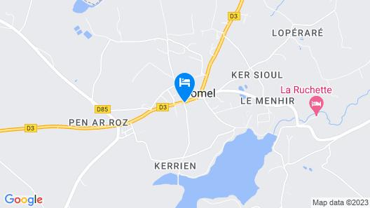 Webb's of Glomel Map