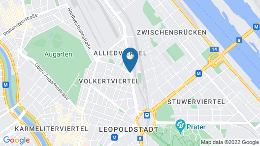 The Student Hotel Vienna Map