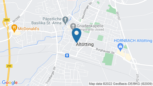 Hotel Plankl Map