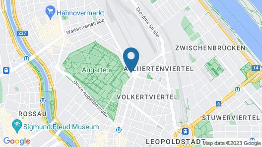Steiner Residences Vienna Augarten Map