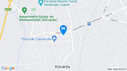 Melinda Apartman Map