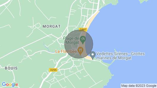 Promotion-l'ormeau - Facing the Morgat Beach Map