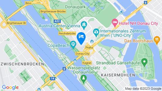 Melia Vienna Map