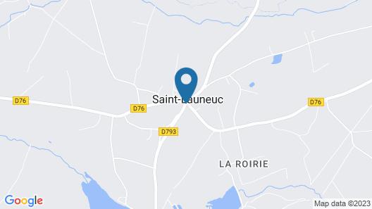 Auberge de La Hardouinais - Ar Duen Map