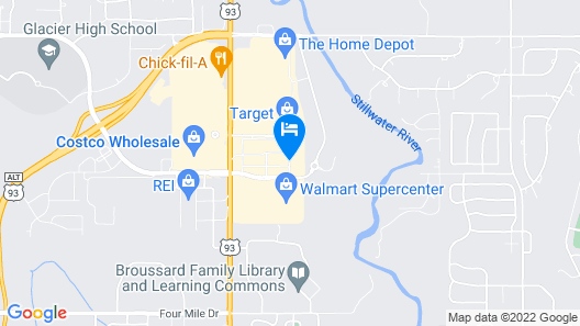 Homewood Suites by Hilton Kalispell, MT Map
