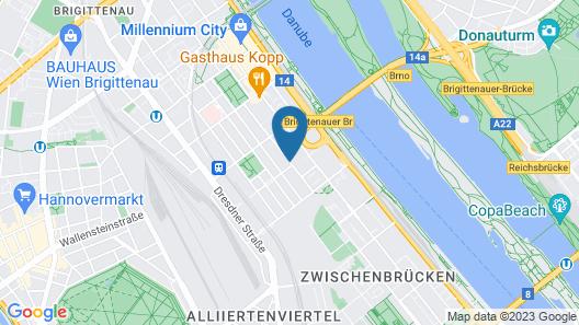 Zimmer Wien free Wifi Map