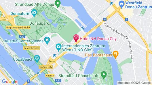 NH Danube City Map