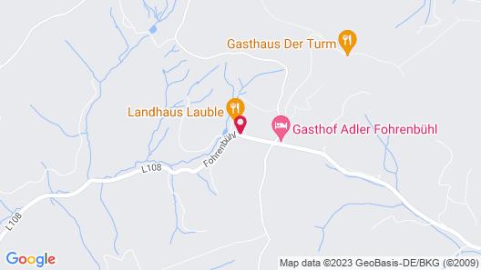 Hotel Landhaus Lauble Map