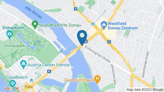 Lenas Donau Map