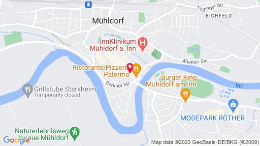 Hotel Mühldorf Map