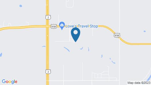 Mobile Motel Williston Map