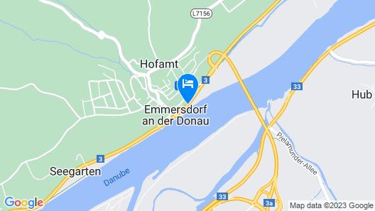 Hotel-Restaurant Donauhof Map