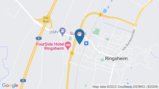 Hotel Sun Parc - FREE Shuttle Map