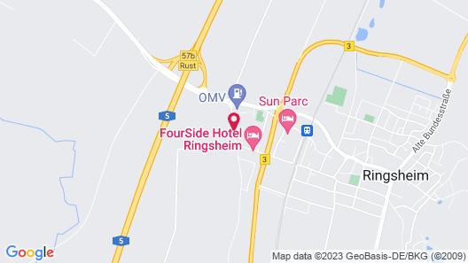 Holiday Inn Express Ringsheim Map