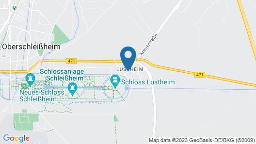 Hotel am Schloßpark Zum Kurfürst Map