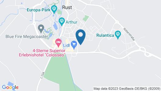 Gästehaus am Wasserpark Map