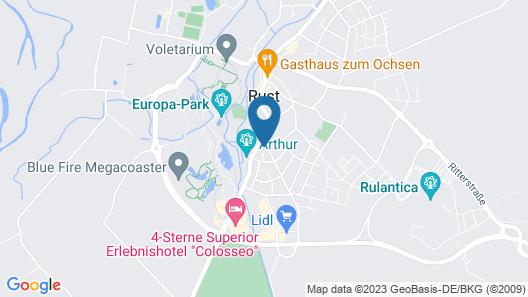 Hotel Mythos Map