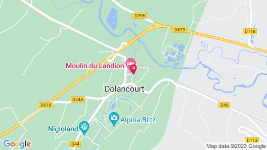 Le Moulin du Landion Hôtel & Spa Map