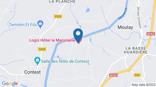 La Marjolaine Map