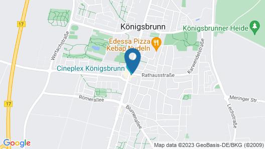 Best Western Hotel am Europaplatz Map