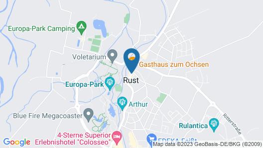 Hotel Casa Rustica Map