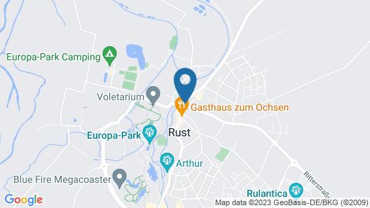 Hotel Arndt Map