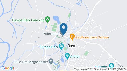 Hotel am Park Map