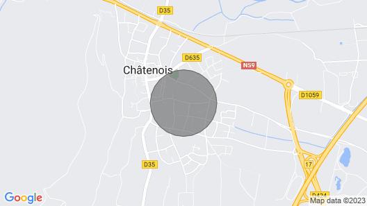 3 Storks, House 9 Acres, Alsace Centre Map