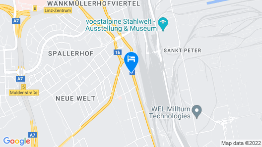 Apartments SteelCity Linz Map