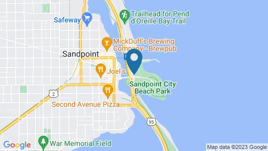 Best Western Edgewater Resort Map