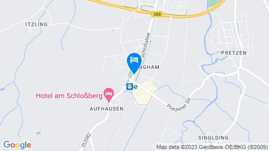 AZIMUT Hotel Erding Map