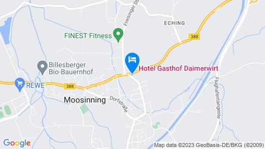 Hotel Daimerwirt Map